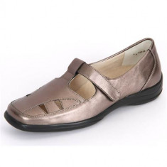 Pantofi Femei Semler Olivia Bronce Metallnappa O1095019052