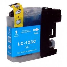 Cartus cerneala Brother LC123C Cyan compatibil