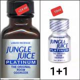 2X JUNGLE JUICE PLATINUM 24 M+10 ML ,POPPERS,AROMA CAMERA,RUSH,CALITATE,ORIGINAL