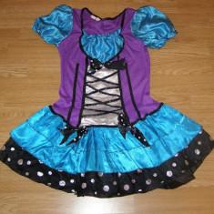 costum carnaval serbare rochie traditionala bavareza pentru copii de 6-7-8 ani