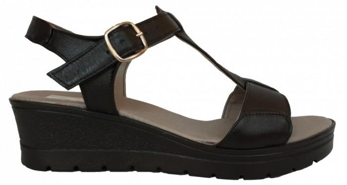 Sandale dama casual Ninna Art 274 negru