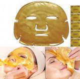 Masca Colagen, Gold Mask, pentru Fata, impotriva Ridurilor, Cearcanelor, 1 buc/set