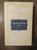 OPERE -SHAKESPEARE , VOL III