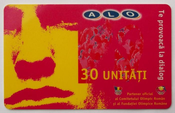 ROMANIA CARTELA ALO 30 UNITATI - PENTRU COLECTIONARI **