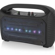 Boxa Bluetooth Portabila Blow, Acustic Bazooka, Radio FM, Karaoke, USB, SD, AUX, 1xMIC, Putere 100W