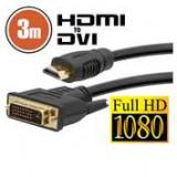Cablu DVI-D / HDMI • 3 mcu conectoare placate cu aur ManiaMall Cars