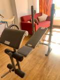 Banca fitness multifunctionala-piept inclinat, declinat, picioare, brate, spate