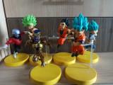 Set figurina Dragon Ball Goku Vegeta Gohan Freeza Jiren Kale 9 cm