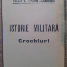 Istorie militara, crochiuri - Maior I. Iliescu-Zanoaga// 16 harti