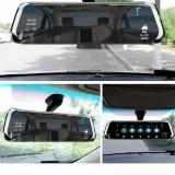Camera auto, martor trafic, in oglinda retrovizoare fata si marsarier, 10Inch