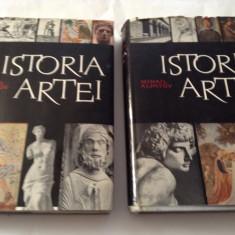 Istoria Artei I, II - Mihail Alpatov--CARTONATE CU SUPRACOPERTA-RF17/2