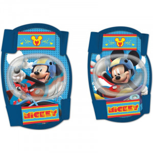 Set protectie cotiere/genunchiere Mickey Seven, 3-8 ani+