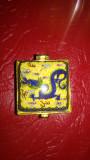 Caseta de Bijuterii din Portelan Wucai Lucrata Manual - Dragonul Norocos