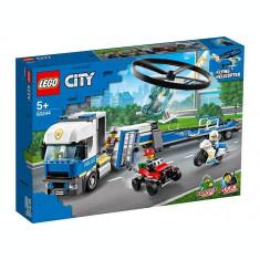 LEGO City - Transportul elicopterului de politie 60244