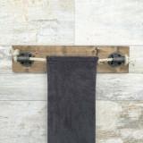 Cuier Evila Originals, 792EVL2602, lemn masiv 100 procente, 60 x 14 x 10 cm