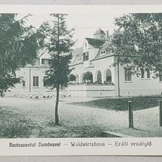 Sibiu. Restaurantul Dumbravei - CP Ilustrata