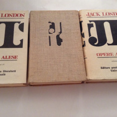 JACK LONDON - OPERE ALESE (1966, editie cartonata)---RF10/3