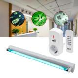 Lampa bactericida uvc 40 w, sterilizare suprafata 40 mp, control telecomanda, fixare perete