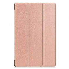 Husa Samsung Galaxy Tab S6 T860/T865 10.5 Inch - Tech-Protect Smart Case Gold Rose