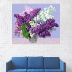 Tablou Canvas, Vaza, Flori De Liliac - 40 x 50 cm