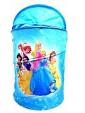 Cos pentru jucarii Printesele Disney, albastreu, 43x53 cm