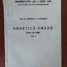 CURS DE GENETICA UMANA - CORNELIU C. ZOLYNEAC