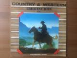 alexandru andries country & western greatest hits vol III disc vinyl lp muzica