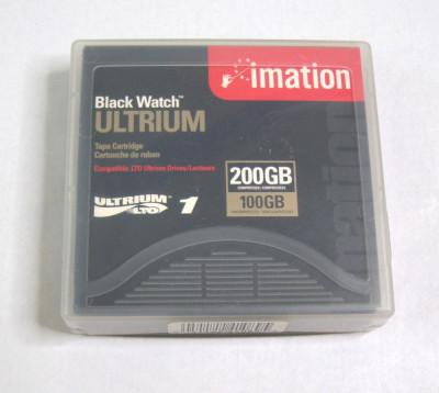Imation LTO-1 Ultrium 200GB Media Data Tape Cartridge single(1190) foto