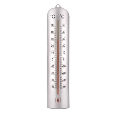 Termometru interior/exterior Meteo, 26.5 cm, Alb foto