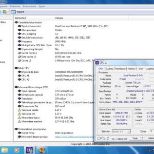 Procesor socket 775 Intel Pentium D 945 Dual Core 3.4Ghz FSB 800 4 Mb Presler