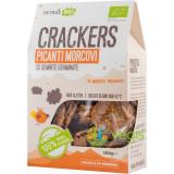 Crackers (Biscuiti) Picanti cu Morcovi si Seminte Germinate Ecologici/Bio 100g