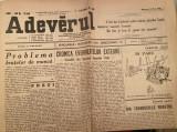 Ziarul Adevarul octombrie 1949 - anul 63 ziar vechi