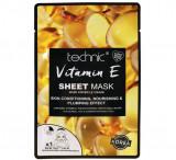 Cumpara ieftin Masca cu Vitamina E Technic Vitamin E Sheet Mask, 18 g