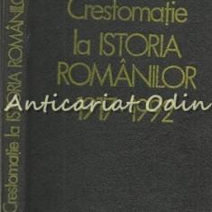 Crestomatie La Istoria Romanilor 1917-1992
