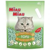Asternut natural din tofu, Miau Miau, Aloe Vera, 6l