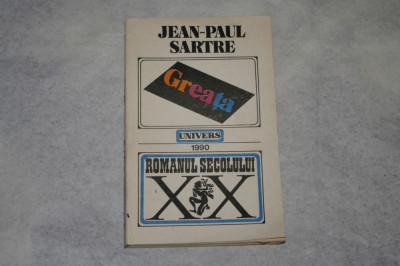 Greata - Jean-Paul Sartre - 1990 foto