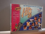 Hits 89 - Selectii - 2 Casete Box (1989/BMG-ARIOLA/Germany) -  Rar/ORIGINAL/FB