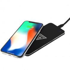 Incarcator Wireless Portabil 1000mAh Negru