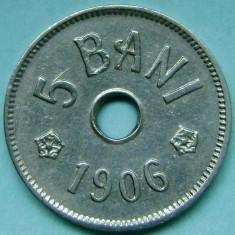 ROMANIA, 5 BANI 1906 J_XF * cod 128