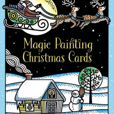 Christmas Cards Magic Painting