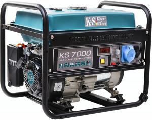 Generator curent KS 7000 Könner & Söhnen Germany, benzina, 5.5 kW, Easy Start
