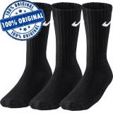 Set 3 perechi sosete Nike Basic - sosete originale, Negru