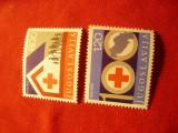 Serie Yugoslavia 1975 - Crucea Rosie , 2 valori
