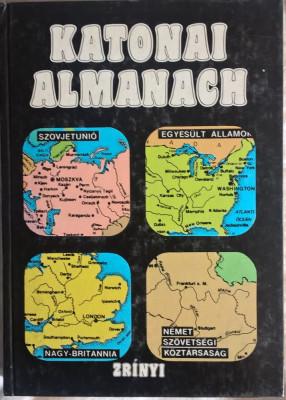 Katonai Almanach - 1012 (carte pe limba maghiara) foto