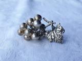 CIORCHINE STRUGURE argint ORNAMENT SPLENDID in miniatura ITALIA exceptional