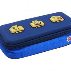 Penar neechipat 3D LEGO Faces - Albastru 20027-2006