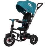 Cumpara ieftin Tricicleta pliabila cu roti gonflabile Sun Baby 014 Qplay Rito - Turquoise