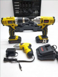 SR032 PACHET AutoFiletanta + Pistol Impact, Surubelnita 2 Acumulatori