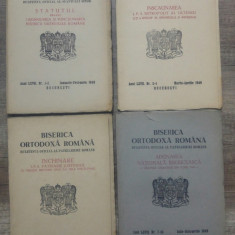 Biserica Ortodoxa Romana, buletinul oficial al Patriarhiei/ 1949