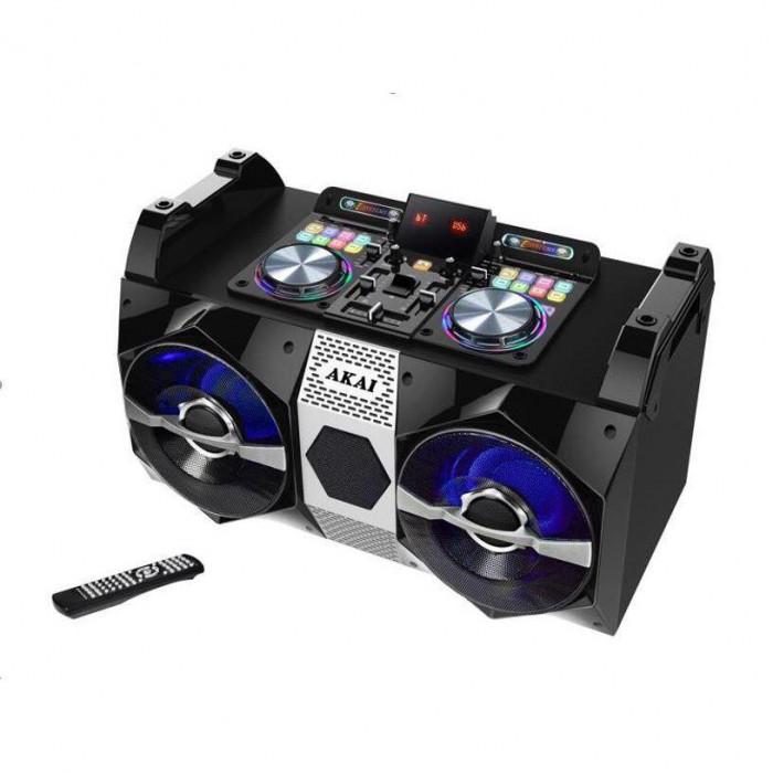 Sistem audio Akai DJ-530, Bluetooth, DJ effects, negru